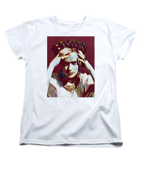 Thinking Frida Women's T-Shirt (Standard Cut)