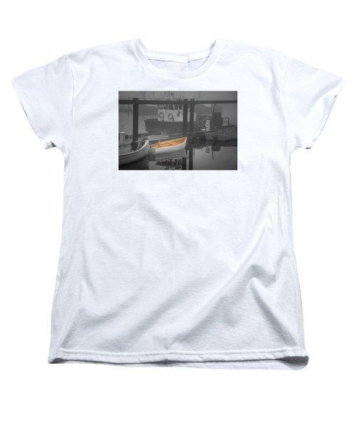 This Little Boat Women's T-Shirt (Standard Cut) by Peter Scott