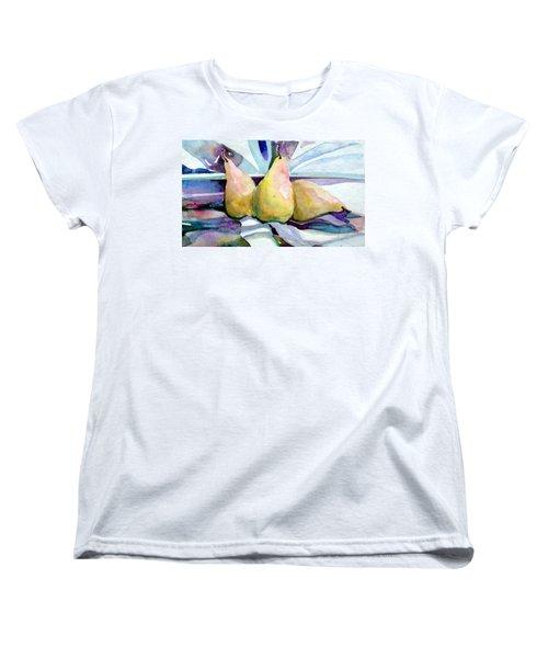 Three Graces Women's T-Shirt (Standard Cut) by Mindy Newman