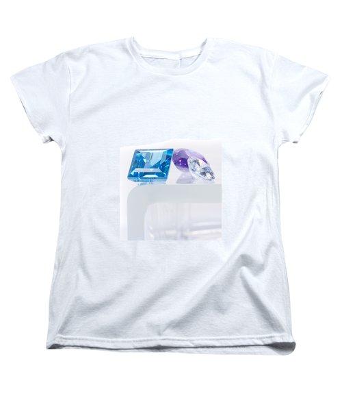 Three Jewel Women's T-Shirt (Standard Cut) by Atiketta Sangasaeng