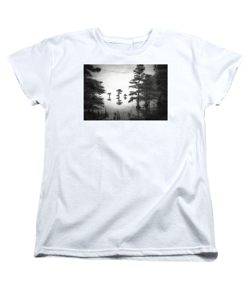 Women's T-Shirt (Standard Cut) featuring the photograph Three Little Brothers by Eduard Moldoveanu