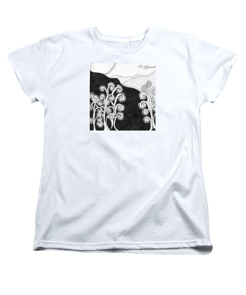 Through The Woods Women's T-Shirt (Standard Cut)