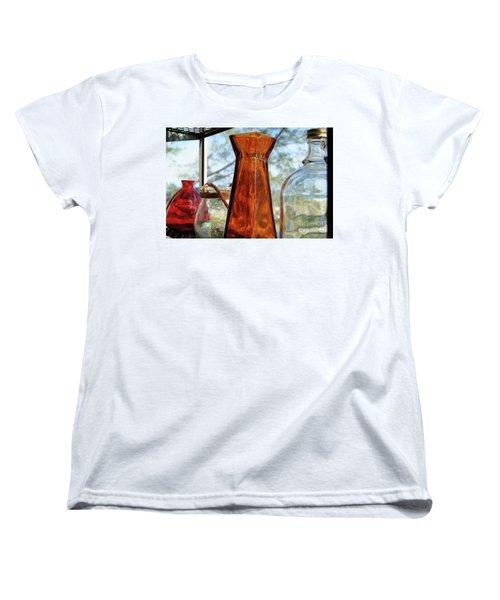 Thru The Looking Glass 1 Women's T-Shirt (Standard Cut) by Megan Cohen