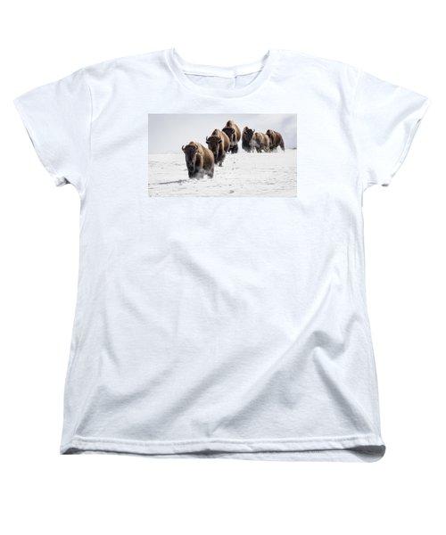 Thunderbeast Women's T-Shirt (Standard Cut) by Jack Bell
