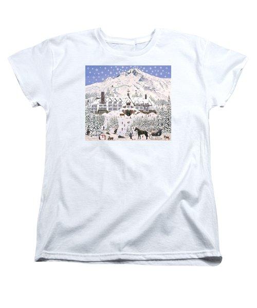 Timberline Lodge Women's T-Shirt (Standard Cut)