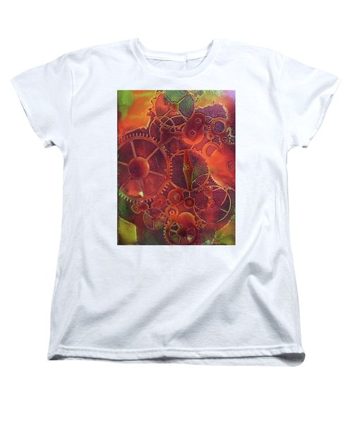 Time Marches On Women's T-Shirt (Standard Cut)