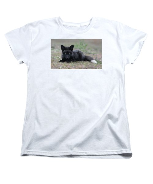 Women's T-Shirt (Standard Cut) featuring the photograph Here's Looking At You by Elvira Butler