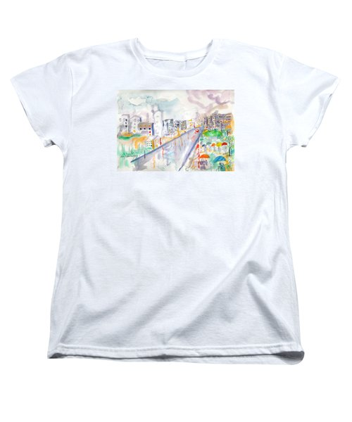 To The Wet City Women's T-Shirt (Standard Cut) by Mary Armstrong