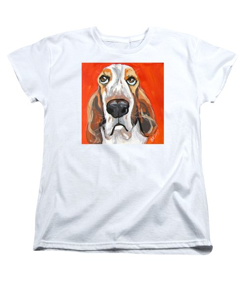 Toby Women's T-Shirt (Standard Cut) by Barbara O'Toole