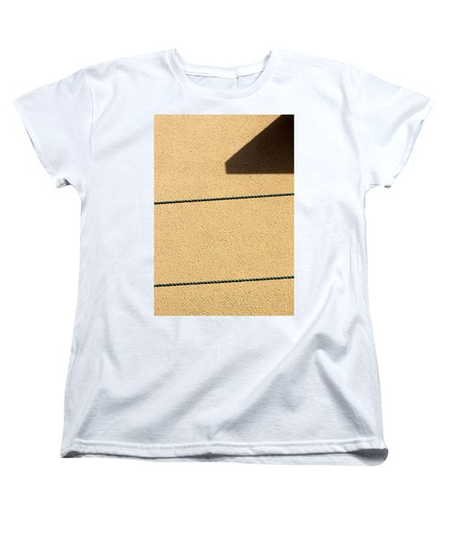 Women's T-Shirt (Standard Cut) featuring the photograph Together Yet Apart by Prakash Ghai