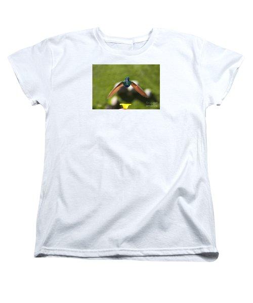 Tom Thumb Says Happy New Year Women's T-Shirt (Standard Cut) by Al Bourassa