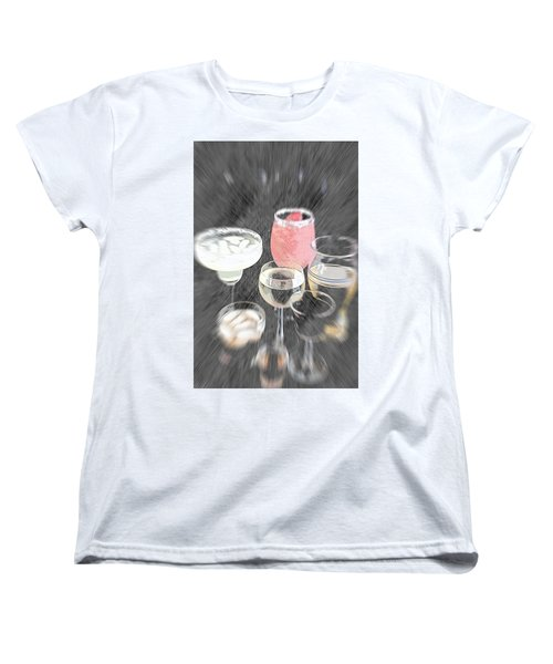 Women's T-Shirt (Standard Cut) featuring the photograph Too Many To Drive by Sherry Hallemeier