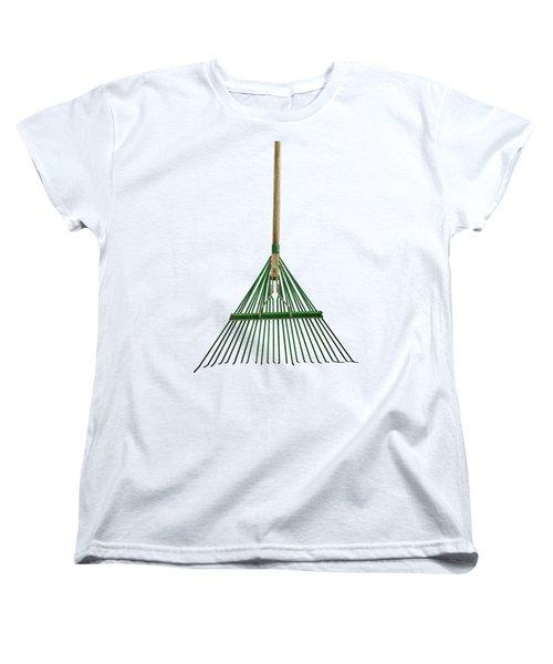 Tools On Wood 10 On Bw Women's T-Shirt (Standard Cut) by YoPedro