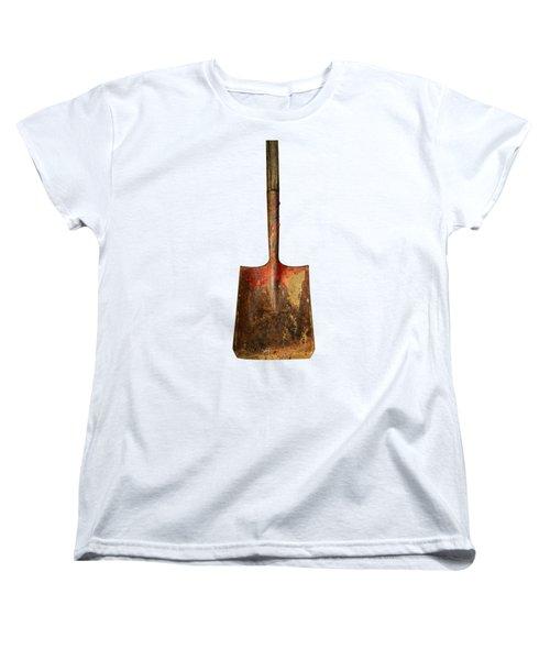 Tools On Wood 2 On Bw Women's T-Shirt (Standard Cut) by YoPedro