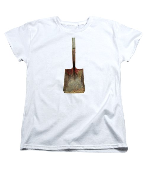 Tools On Wood 3 On Bw Plywood Women's T-Shirt (Standard Fit)