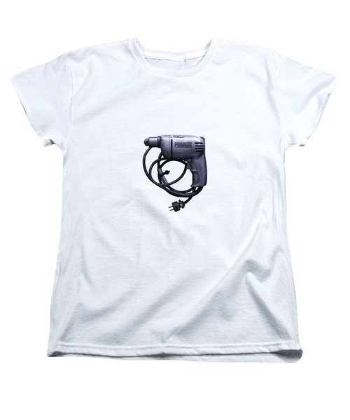 Tools On Wood 76 Women's T-Shirt (Standard Cut) by YoPedro