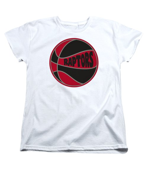 Toronto Raptors Retro Shirt Women's T-Shirt (Standard Cut) by Joe Hamilton