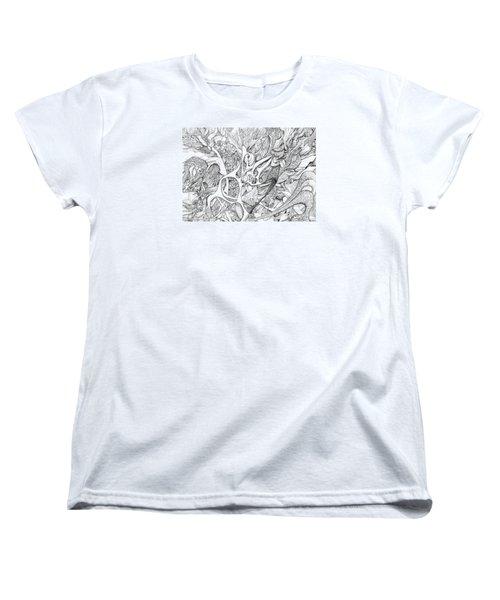 Tortuosity Women's T-Shirt (Standard Cut) by Charles Cater