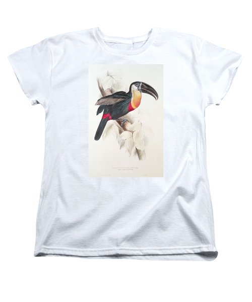 Toucan Women's T-Shirt (Standard Cut) by Edward Lear