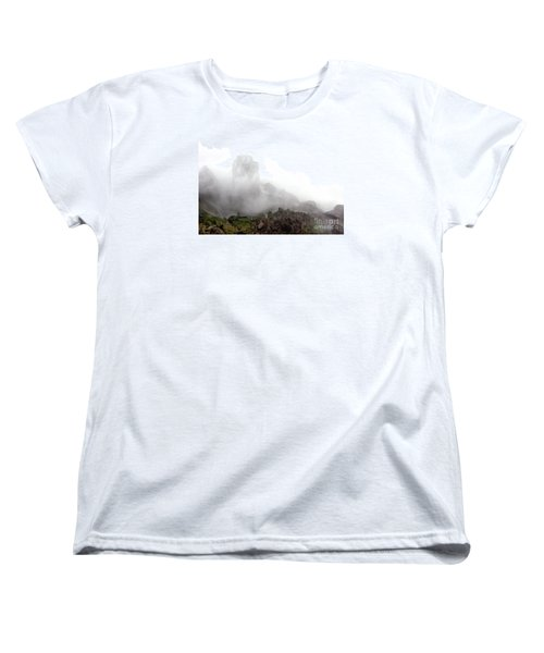 Women's T-Shirt (Standard Cut) featuring the photograph Watch The Clouds Roll By by Dana DiPasquale