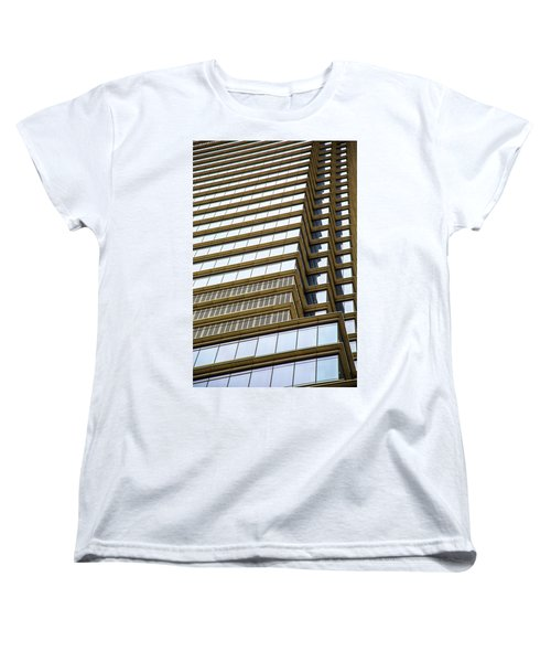 Women's T-Shirt (Standard Cut) featuring the photograph Towering Windows by Karol Livote