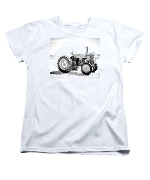 Women's T-Shirt (Standard Cut) featuring the photograph Tractor by Silvia Bruno