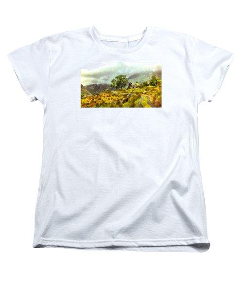 Traditional Ireland Women's T-Shirt (Standard Cut) by Mario Carini