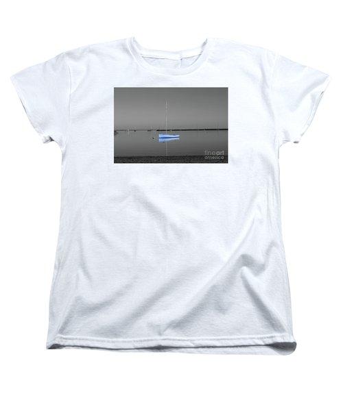 Tranquil Waters Women's T-Shirt (Standard Cut) by Sebastian Mathews Szewczyk