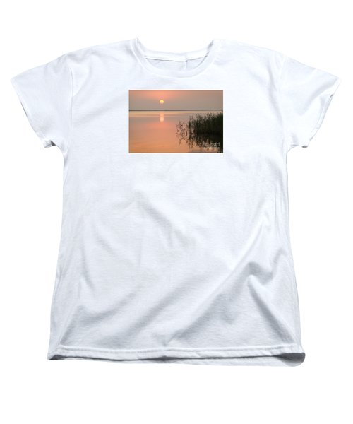 Women's T-Shirt (Standard Cut) featuring the photograph Tranquility by Inge Riis McDonald
