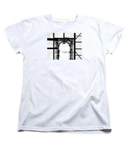 Women's T-Shirt (Standard Cut) featuring the photograph Transition by Newel Hunter