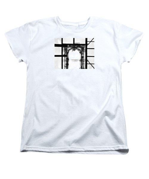 Transition Women's T-Shirt (Standard Cut) by Newel Hunter