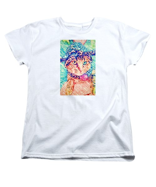 Trav With Hat Women's T-Shirt (Standard Cut) by Jan Amiss Photography