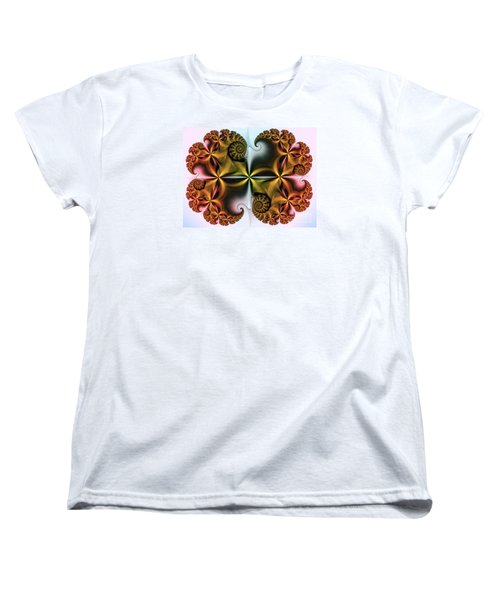Women's T-Shirt (Standard Cut) featuring the digital art Treasure by Karin Kuhlmann
