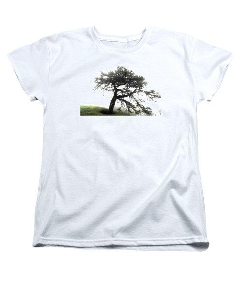 Women's T-Shirt (Standard Cut) featuring the photograph Tree by Alex Grichenko