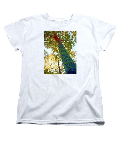 Tree Crochet Women's T-Shirt (Standard Cut) by  Newwwman