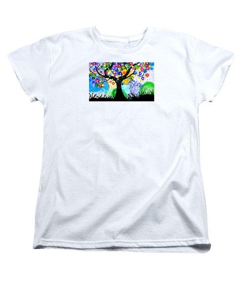 Tree Dance Women's T-Shirt (Standard Cut)