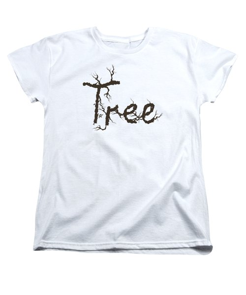 Tree Women's T-Shirt (Standard Cut) by Martina Fagan