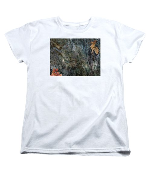 Women's T-Shirt (Standard Cut) featuring the photograph Tree Memories # 33 by Ed Hall
