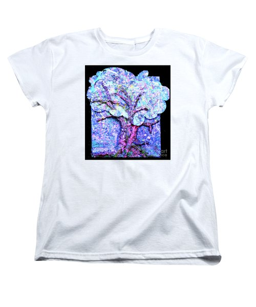 Women's T-Shirt (Standard Cut) featuring the painting Tree Menagerie by Genevieve Esson