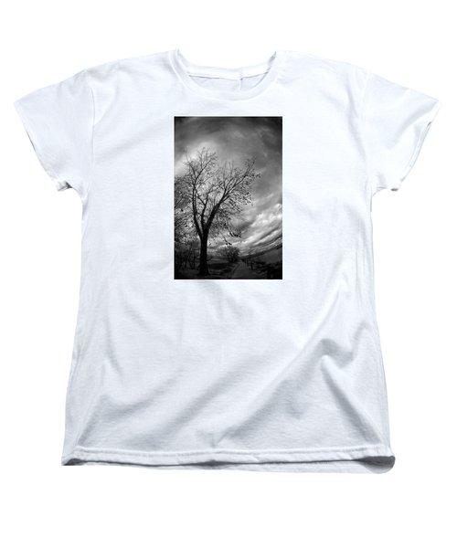 Tree 4 Women's T-Shirt (Standard Cut) by Simone Ochrym