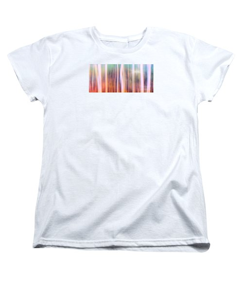 Tree Star Abstract Women's T-Shirt (Standard Cut) by Clare VanderVeen