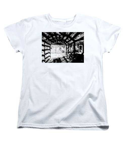 Trellis Pov Women's T-Shirt (Standard Cut) by Betsy Zimmerli