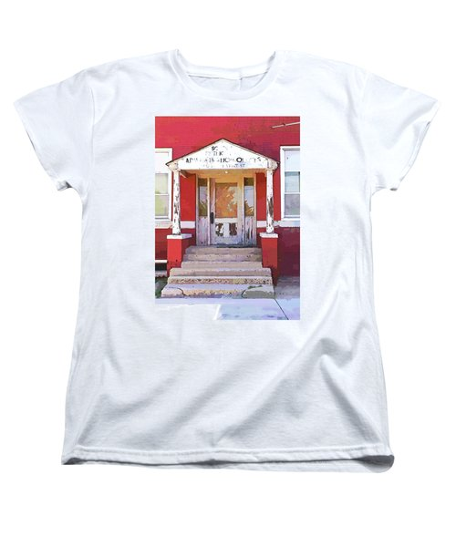 Trinity Or Trinidad Women's T-Shirt (Standard Cut) by Cynthia Powell