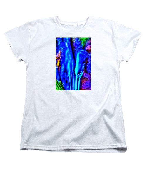 Women's T-Shirt (Standard Cut) featuring the photograph Tropical Lightshow  by Richard Ortolano
