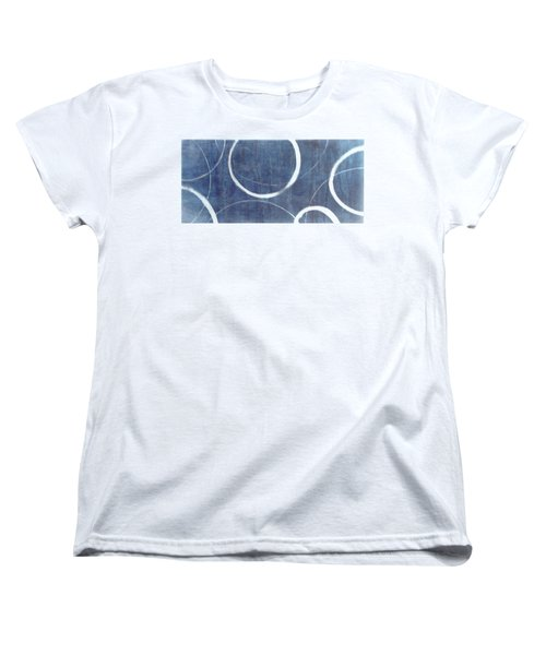 True Blue Ensos Women's T-Shirt (Standard Cut) by Julie Niemela