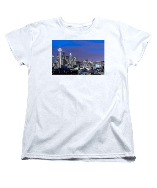 True To The Blue In Seattle Women's T-Shirt (Standard Cut)