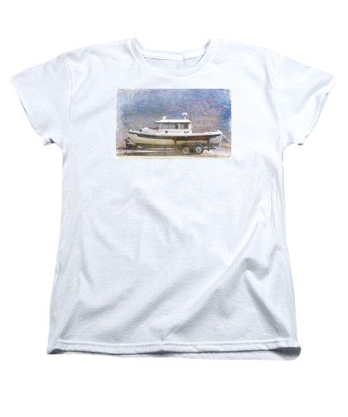 Tugboat Women's T-Shirt (Standard Cut) by Cynthia Powell