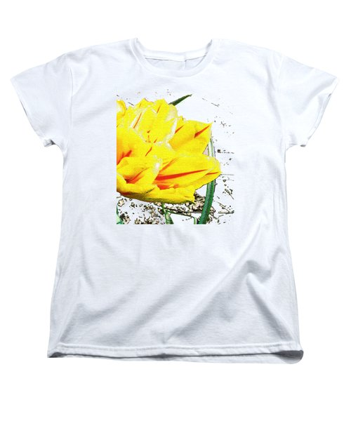 Tulip 3 Women's T-Shirt (Standard Cut) by Vesna Martinjak