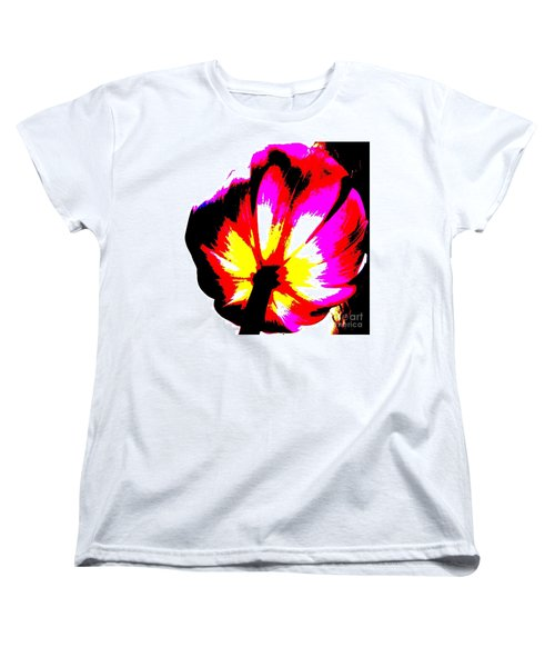 Tulip Women's T-Shirt (Standard Cut) by Tim Townsend