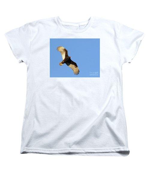Turkey Vulture Women's T-Shirt (Standard Cut) by Debbie Stahre